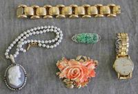 A grouping of some important and fine jewelry pieces to be sold April 6th at Clarke.