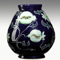 Avon, Squeezebag decorated vase, $1,500-2,000