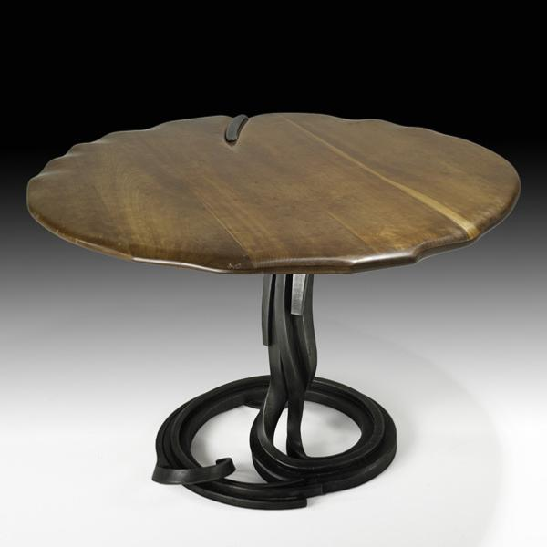 Albert Paley Exceptional Custom Dining Table, Sold For: $53,125