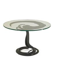 Lot 980, Albert Paley Dining Table, Sold for $59,375.