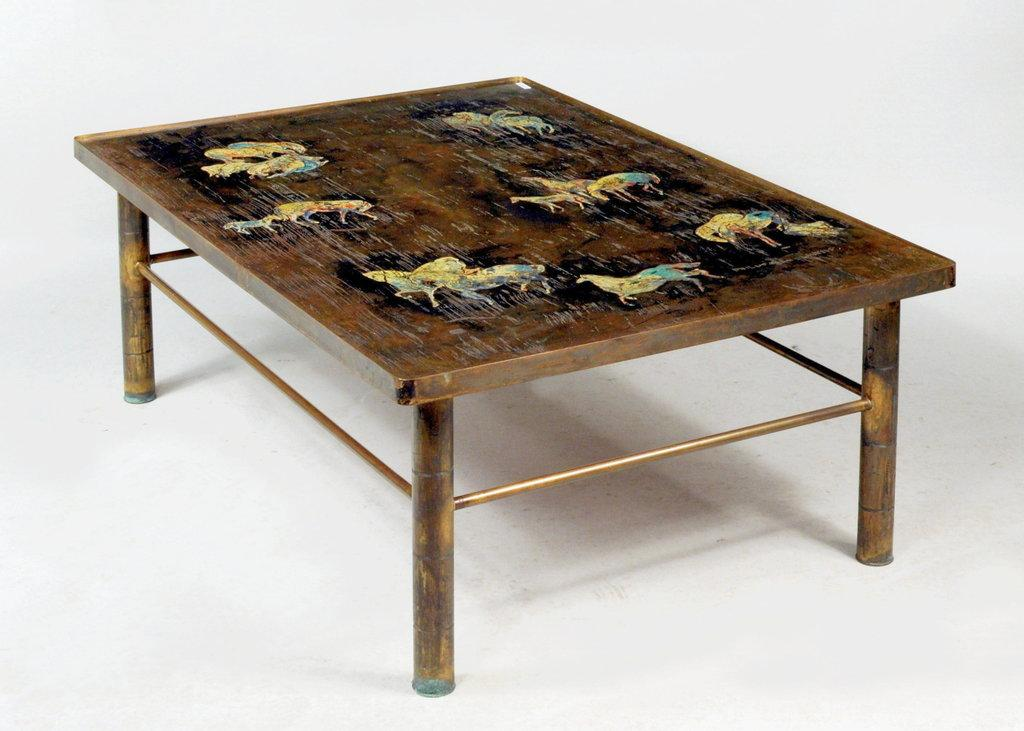 Bertoia laverne picasso and large selection of fine art featured at schwenk - Bertoia coffee table ...