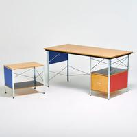 Lot 1200: Charles And Ray Eames/Herman Miller, ESU desk and return, $400-600
