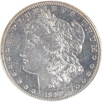 Lot 1331 - U.S.  1889-CC Morgan $1 Coin - IGC MS62 PL - $25,000 - 35,000