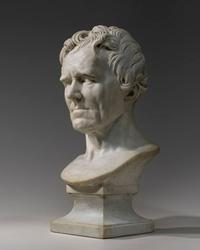 Pierre-Jean David d'Angers, Comte Boulay de la Meurthe, 1832 marble 70 cm (27 1/2 in.) with base National Gallery of Art, Washington Patrons' Permanent Fund and the Buffy and William Cafritz Family Sculpture Fund