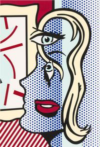 Roy Lichtenstein, The Art Critic (Lot 88, $25,000-35,000)