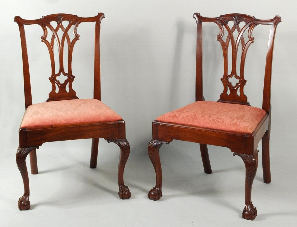 This israel sack american federal mahogany antique lolling arm chair - Important American Furniture Offered In Schwenke Auctioneers June 26th Auction