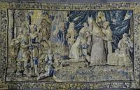 Magnificent 17th century Verdure tapestry.