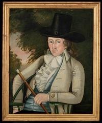 Portrait of Oliver Wight, The Beardsley Limner, Massachusetts, 1786-1793, oil on canvas, 1957.100.9