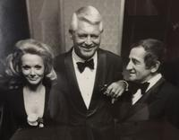 (left to right) Gloria Barrie, Cary Grant, George Barrie Circa 1970
