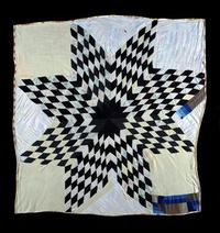 Star Quilt Indiana Bendolph Pettway (1913–1996) Gee's Bend, Alabama, ca.  1970 Cotton, polyester Museum Purchase, Dr.  and Mrs.  T.  Marshall Hahn Jr.  Fund, 2008.609.8