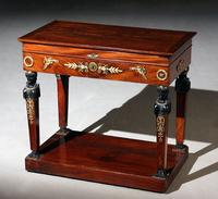 Empire Gentleman's Dressing Table