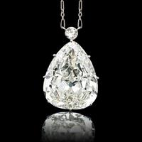 Lot 2428 Highly Important Diamond Necklace 28.67 cts.  Sold for: $850,000