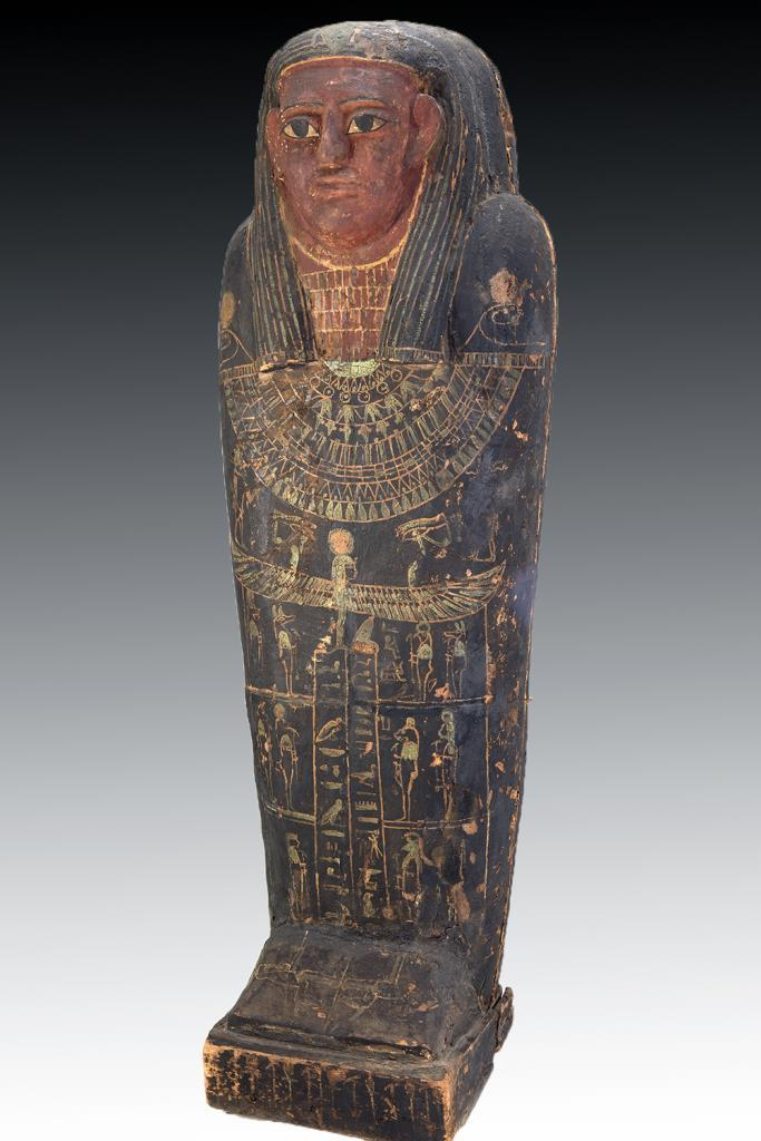 Egyptian Sarcophagus with passport leads Artemis Gallery's June 13 auction - Artwire Press ...
