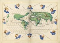 Portolan atlas of the world.  ILLUMINATED MANUSCRIPT ON VELLUM.  [Venice, c.  1542-46]