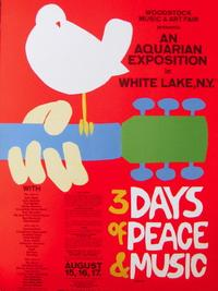 Arnold Skolnick, 3 Days of Peace & Music (Woodstock), 1969