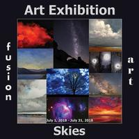 Fusion Art's 2nd Annual Skies Art Exhibition Opens July 1, 2018 www.fusionartps.com