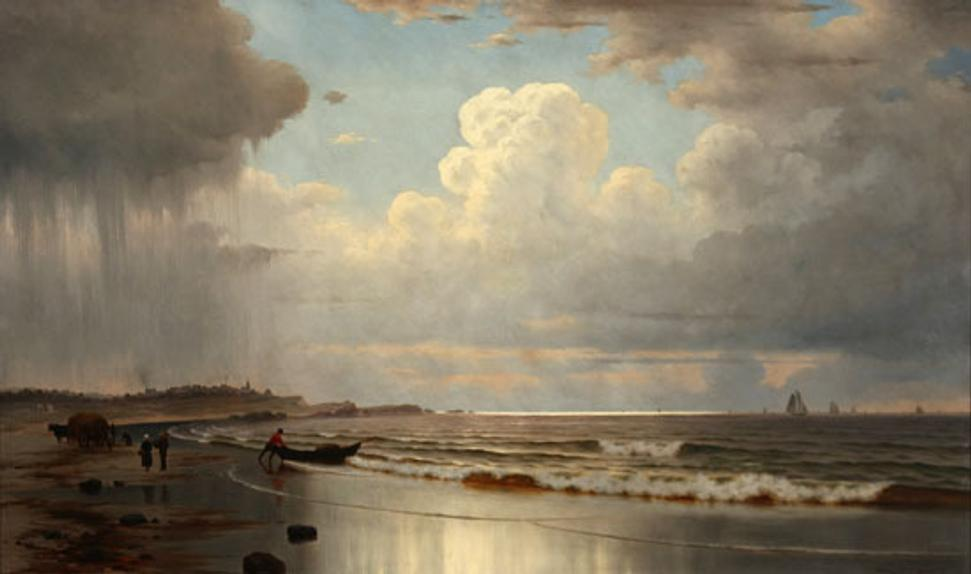 William Frederick de Haas, Maine Coastal Scene