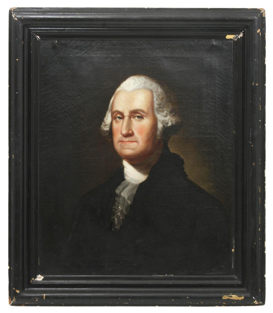 Oil Portrait Of Washington Attributed To Sully Will Come
