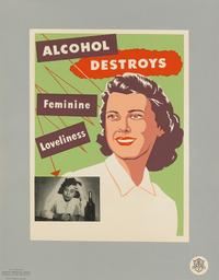 Lot 351: American Temperance Society, group of 20 posters, circa 1950s.  Estimate $2,000 to $3,000.