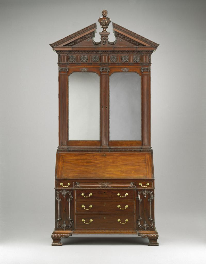 new installation of early american furniture and