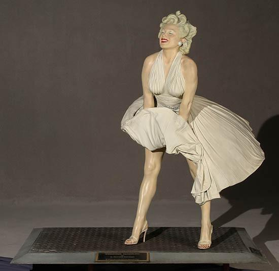 weschler�s to offer lifesize forever marilyn sculpture by