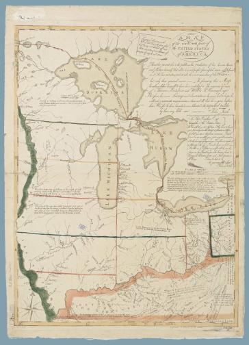 Toward A National Cartography American Mapmaking 1782 1800