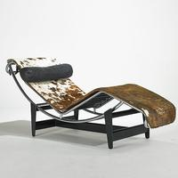 Le Corbusier, Cassina, Adjustable chaise, Italy, 1980s, $800-1,200
