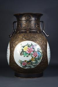 Lot 418: 19th Century Chinese Qing Period Gu-Shaped Jar ($8,000-12,000)