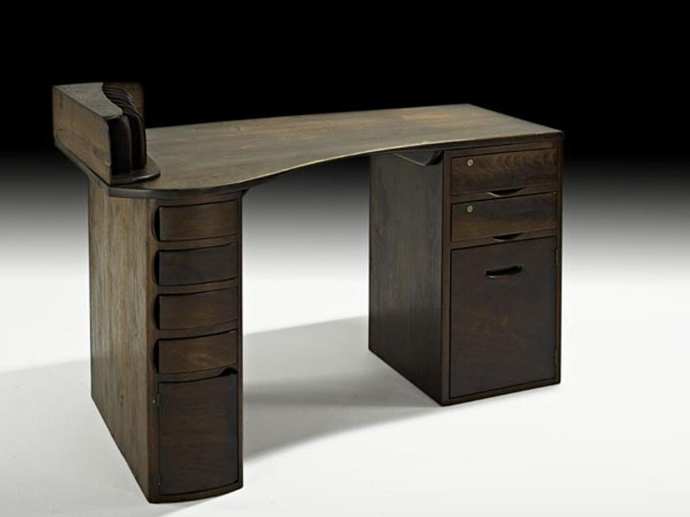 Wharton Esherick Double Pedestal Desk, $60,000-80,000