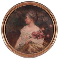 Oil painting of Phoebe Hearst, to be offered February 10 at Turner Auctions + Appraisals