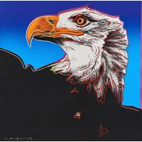 Lot 687: Andy Warhol Bald Eagle from Endangered Species Portfolio $50,000 - 80,000