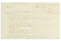 Lot 7: George Washington, Autograph Letter Signed, to his spymaster Benjamin Tallmadge, New Jersey, 1780.  Estimate $25,000 to $35,000.