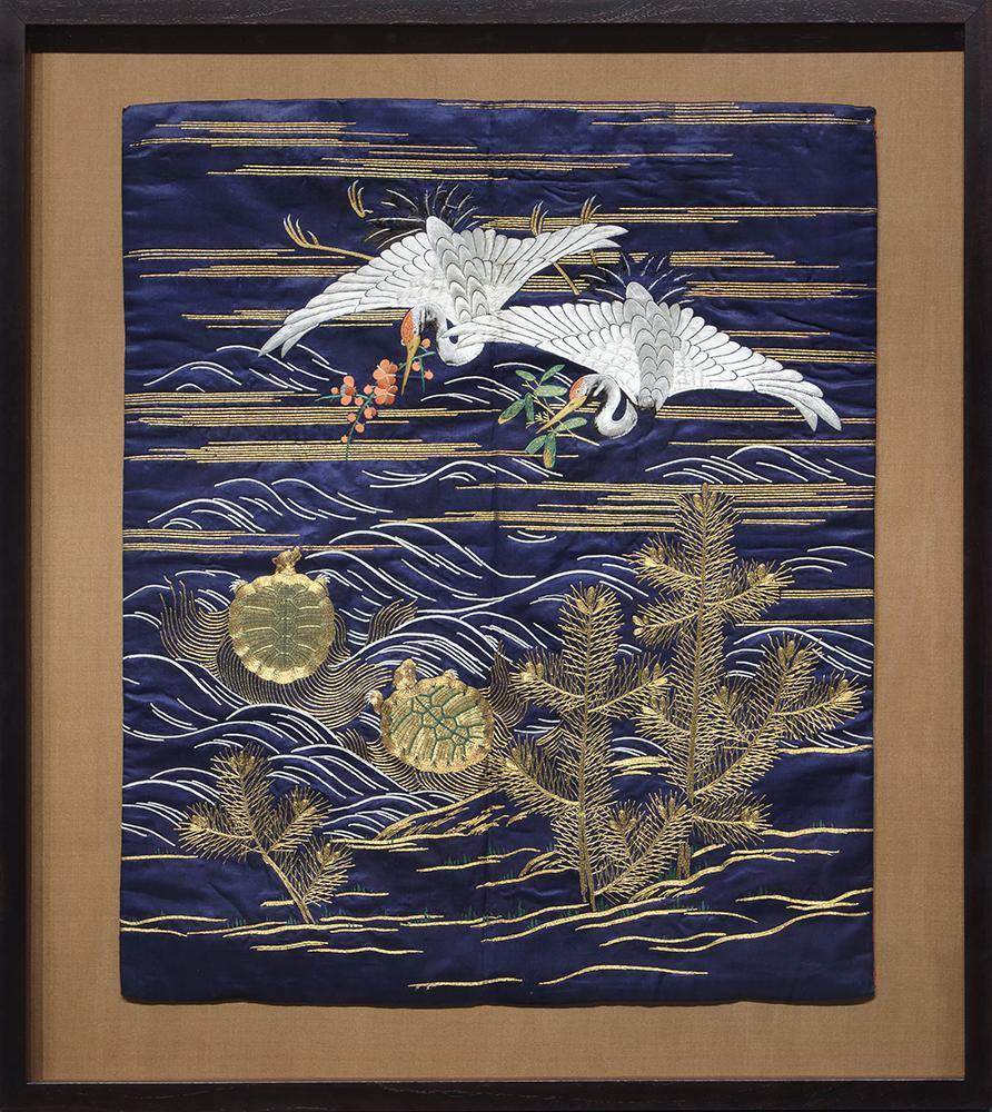 Exquisite Stitch: Japanese Embroidery at Heather James Fine Art