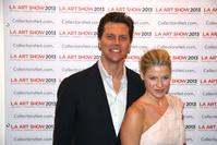 Opening Night Benefit Celebrity Hosts Ali Larter & Hayes MacArthur