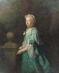 Allan Ramsay, Augusta, Dowager Princess of Wales, 1769, oil on canvas, Collection of SKH der Prinz von Hanover
