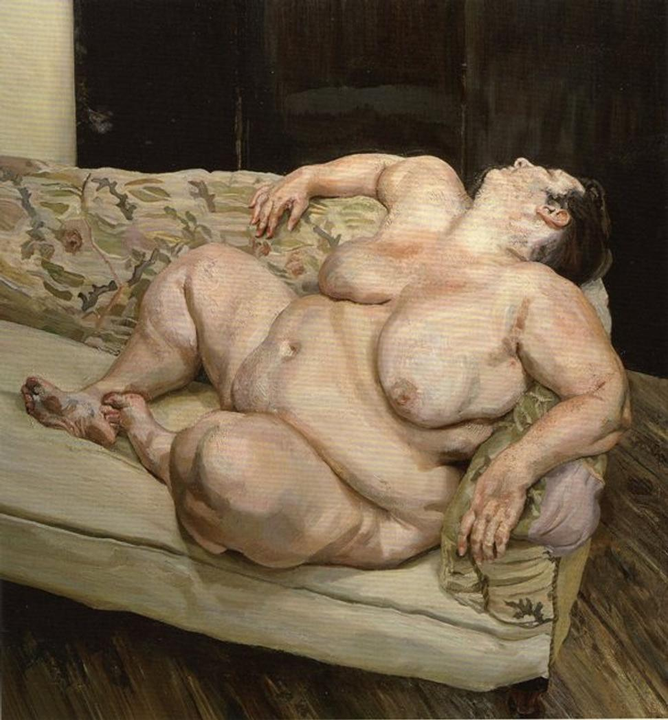 "Christie's Post-War and Contemporary sale on May 13 will offer Lucian Freud's ""Benefits Supervisor Resting,"" which could topple the artist's auction record."