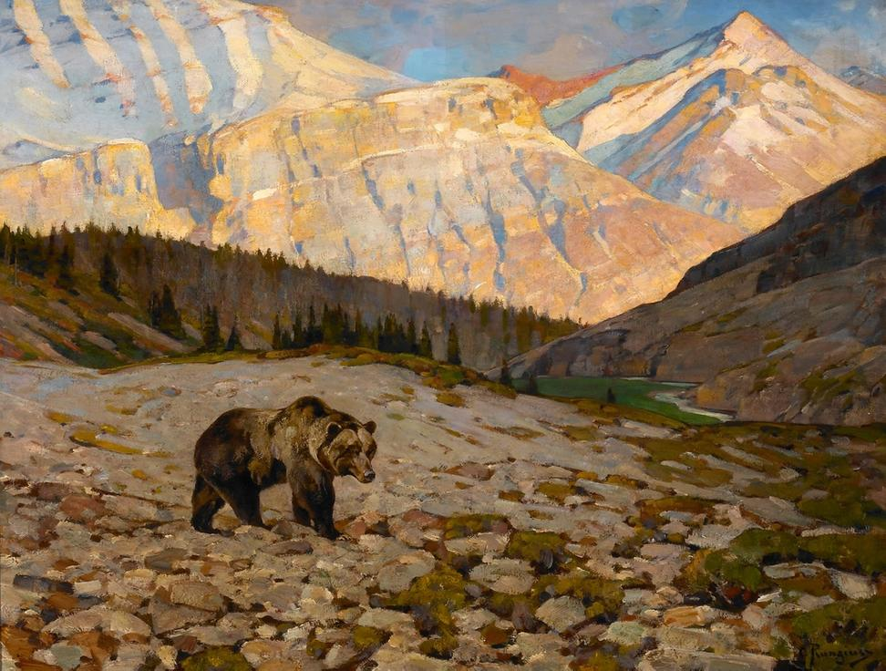 ... grizzly bear oil on canvas 30 x 40 $ 250000 $ 450000 jackson hole art