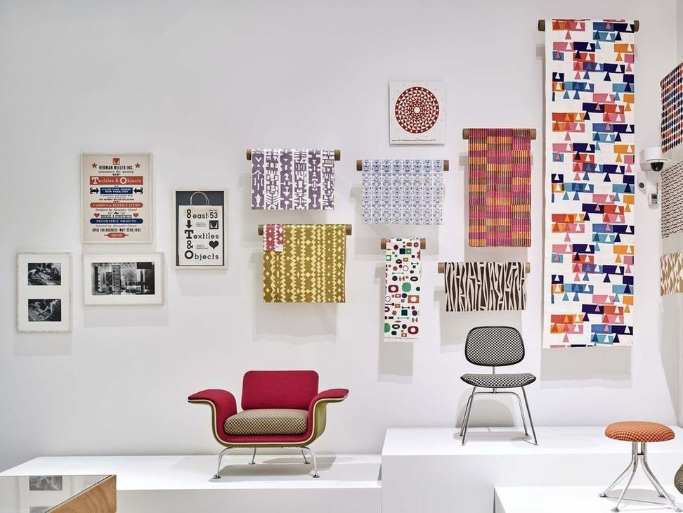 Alexander Girard.  View of exhibition at Vitra Design Museum, room 2, 2016.  Photo © Vitra Design Museum, Mark Niedermann.
