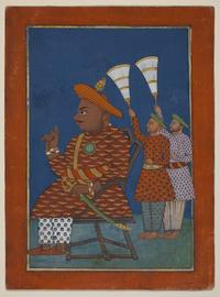 From Oliver Forge and Brendan Lynch: South Indian portrait of Tipu Sultan (1750-99), c.  1825