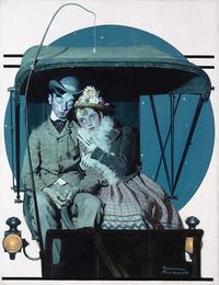 Norman Rockwell's The Buggy Ride, 1925.