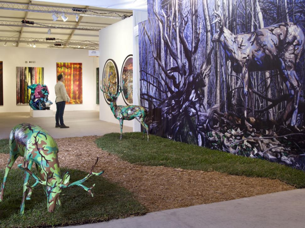 Art Wynwood | Ron English Camo Deer