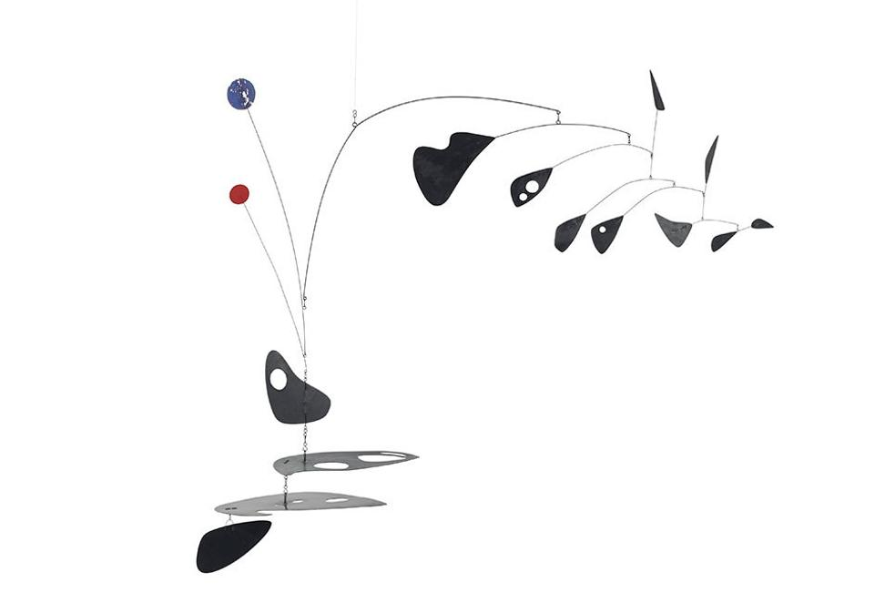 Horizontal Line Art : Christie s to sell calder works from arthur and anita
