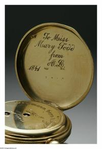 The 1841 Abraham Lincoln Wedding Gift That Mary Todd Never Saw