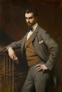 Théobald Chartran (French, 1849 –1907).  James Hazen Hyde, 1901.  Oil on canvas.  New-York Historical Society, Gift of James Hazen Hyde, 1949.1