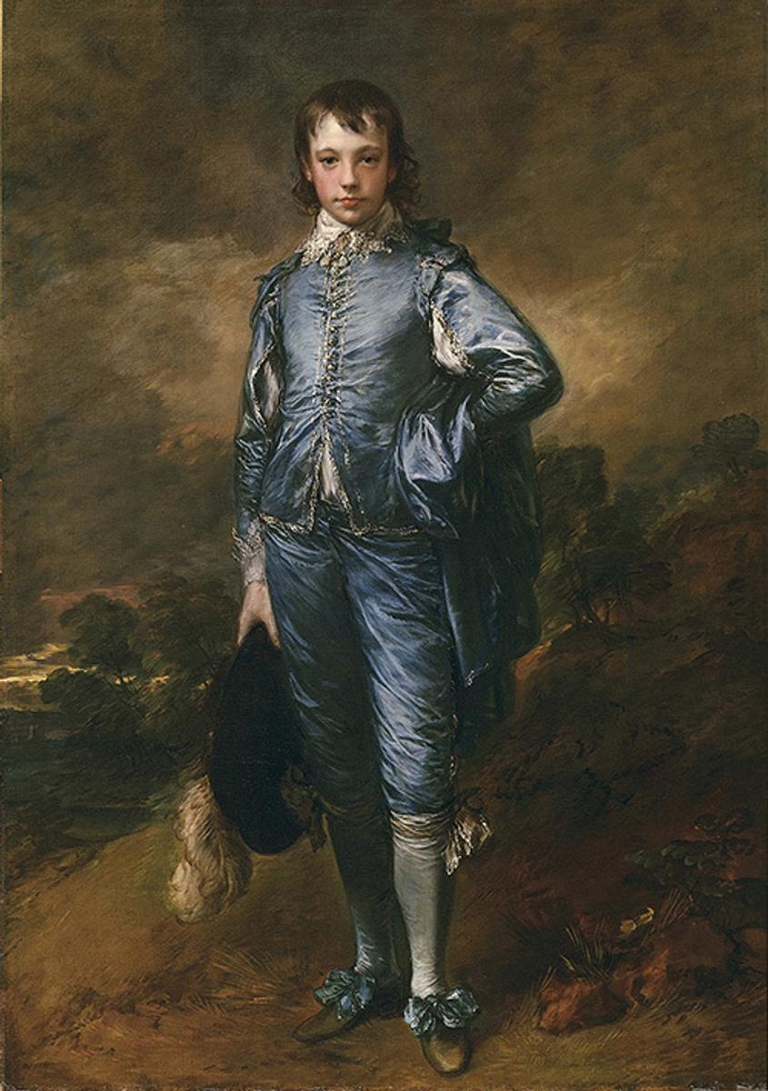 The Blue Boy, (ca.  1770), Thomas Gainsborough (1727–1788), oil on canvas, 70 5/8 x 48 3/4 in.  The Huntington Library, Art Collections, and Botanical Gardens