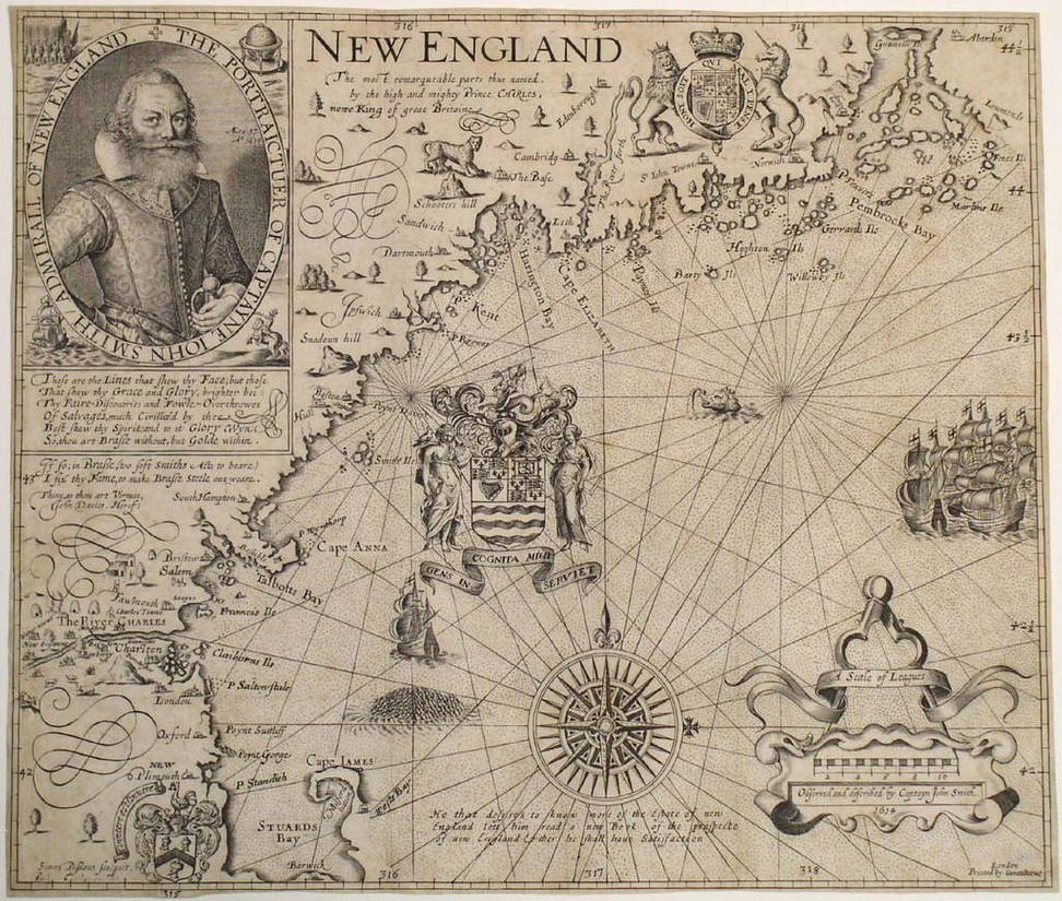 Smith, New England, 1616-1635