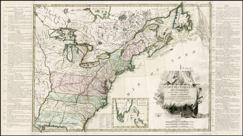 Boston Rare Maps Showcases First Antique Map of The Independent