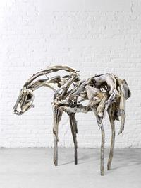 Deborah Butterfield (b.  1949) Dance Horse, 1999, bronze (estimate: $250,000-350,000)