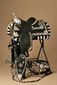 An Edward Bohlin saddle valued at $15,25000 in Western Design Auction starts April 27.