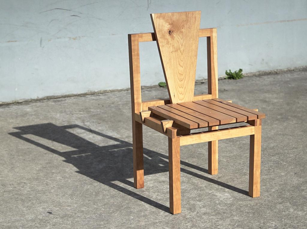Furniture maker Luke Malaney, Red Hook, Brooklyn - SIX FURNITURE MAKERS EXHIBIT A RANGE OF STYLES & MEDIA AT THE